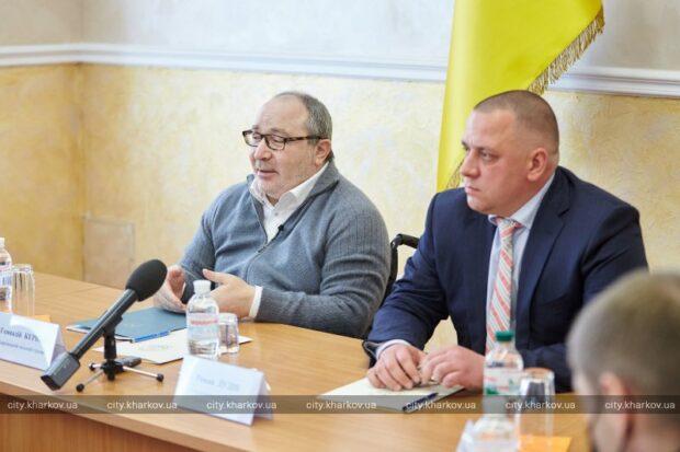Кернес обсудил с СБУ создание в городе Единой системы видеонаблюдения