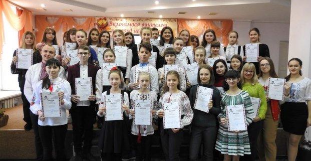 Харьковские школьники победили в Международном литературном конкурсе имени Тараса Шевченко