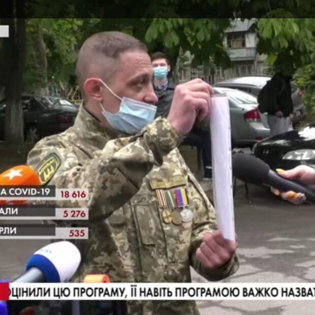 В Харькове водителя скорой, который выходил на протест медиков не допускают к работе