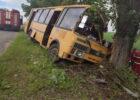 Под Харьковом рейсовый автобус врезался в дерево