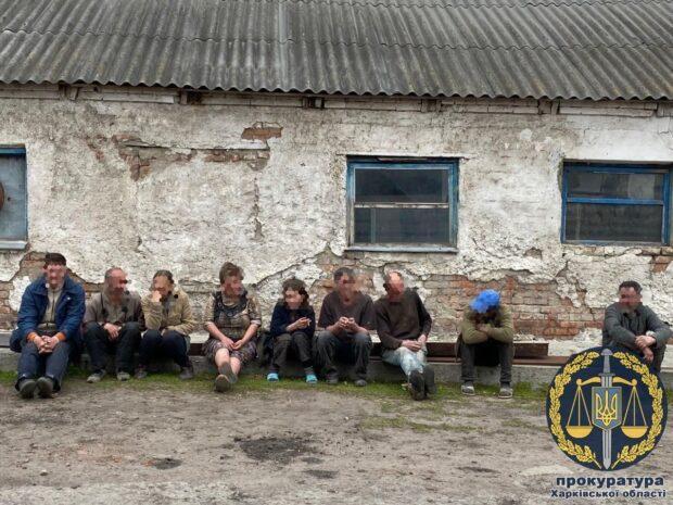 В Малой Рогани девять человек принудительно работали на ферме
