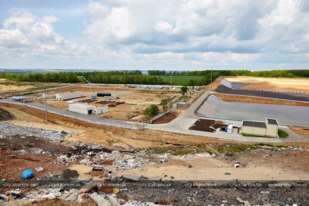 На Дергачевском полигоне отходов подготовили к запуску новую площадку