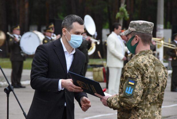 Под Харьковом открыли Мемориал Славы погибшим воинам