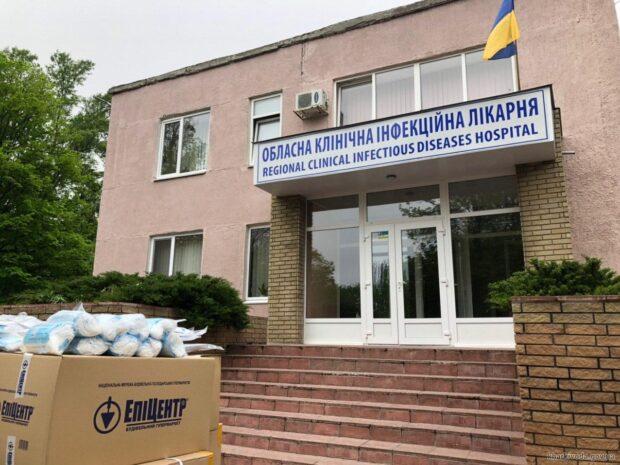 Харьковская область получила очередной медицинский груз