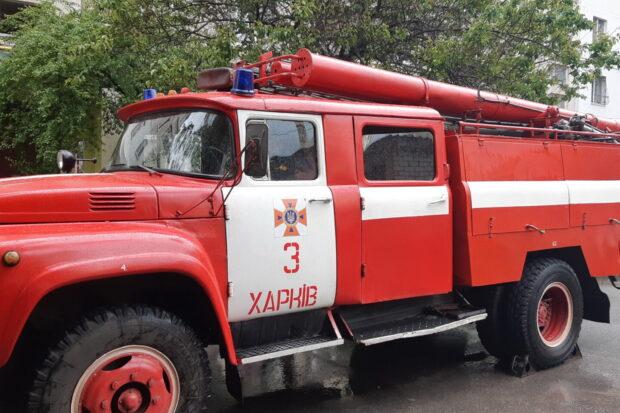 В Харькове в результате пожара из дома эвакуировали 20 человек