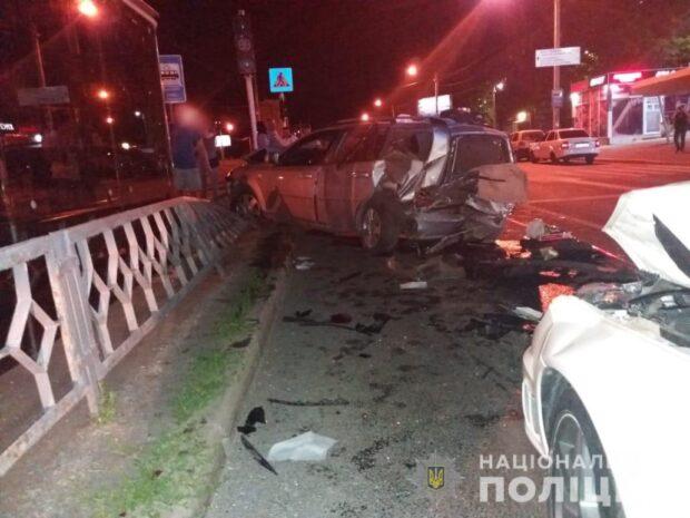 В Харькове экс-чиновник мэрии устроил аварию