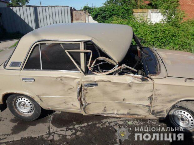 Под Харьковом в результате ДТП пострадал маленький ребенок