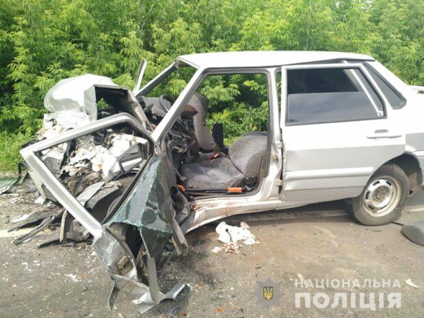 На Харьковщине в результате аварии пострадали три человека