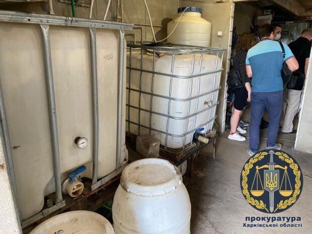 На Харьковщине разоблачили подпольное производство этилового спирта
