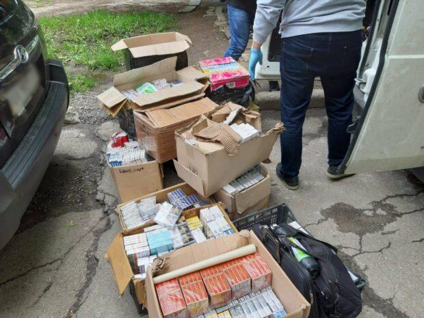 Правоохранители Харькова изъяли более 50 000 пачек контрабандных сигарет