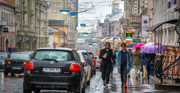 Завтра в Харькове - до 20 градусов тепла и дождь