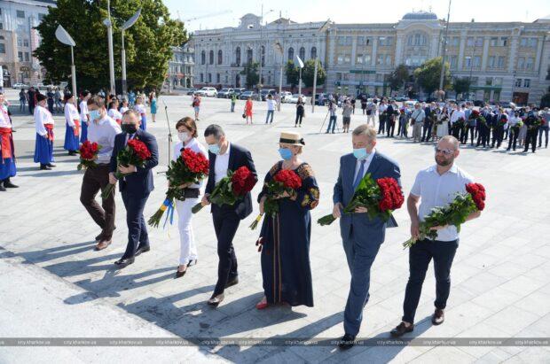 В Харькове отмечают День Конституции