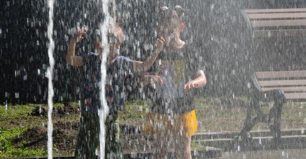В выходные в Харькове - до 32 градусов тепла и возможен дождь