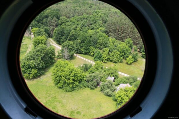 Спасатели с волонтерами провели воздушное патрулирование лесных массивов Харьковской области