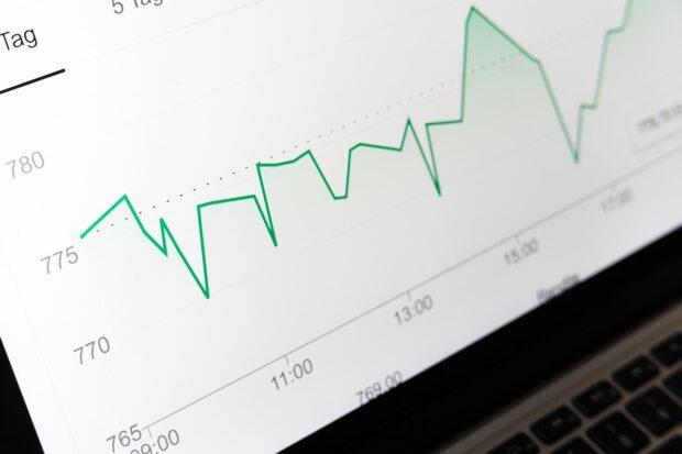 график, проценты, индекс