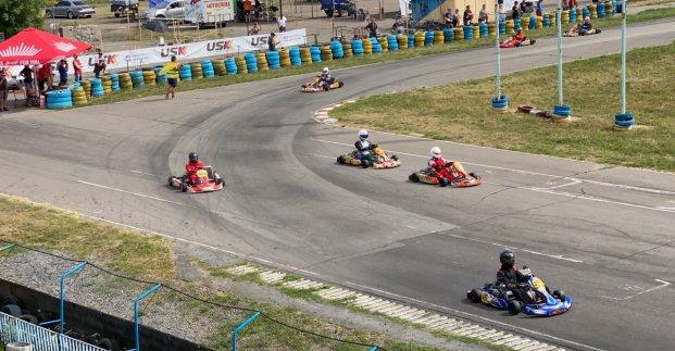Харьковские гонщики выиграли второй этап Кубка Украины по автоспорту