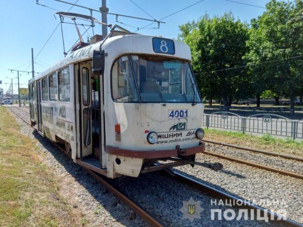 В Харькове пенсионерка попала под трамвай