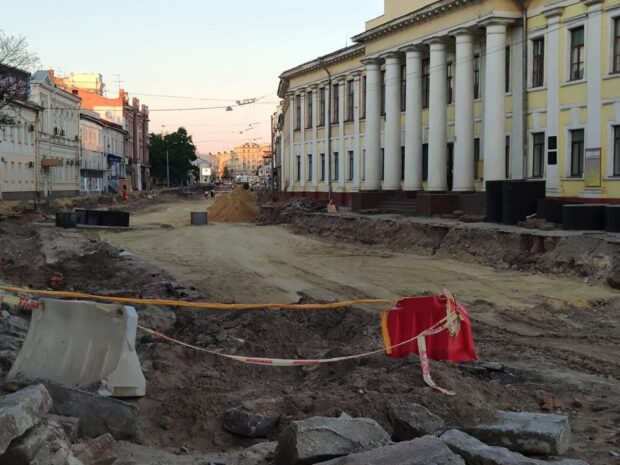 Харьковская мэрия на расширение Московского проспекта потратит более 100 млн гривен
