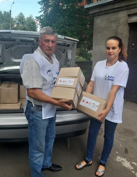 В Харьковской области гуманитарную помощь Красного Креста раздают от имени блока Кернеса - депутат горсовета