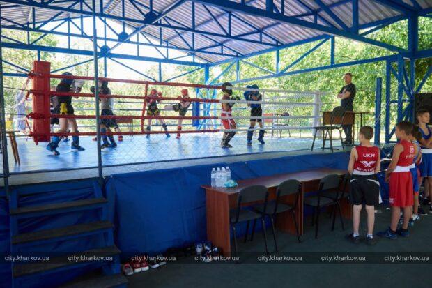 В Харькове построили первый открытый боксерский ринг для детей