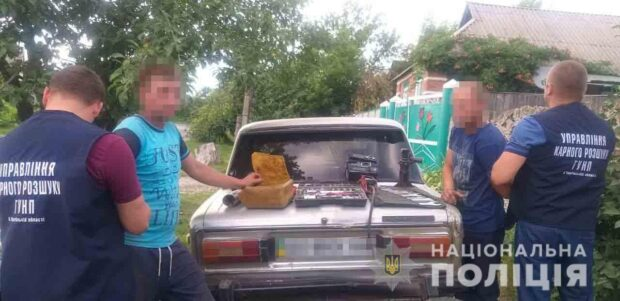 В Харьковской области задержали группу автоворов