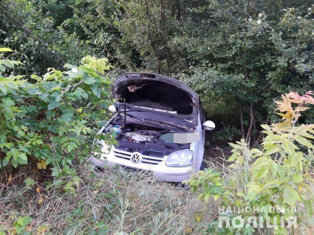 На трассе под Харьковом столкнулись два автомобиля