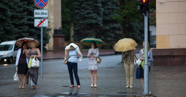 Завтра в Харькове - немного прохладнее и дождь