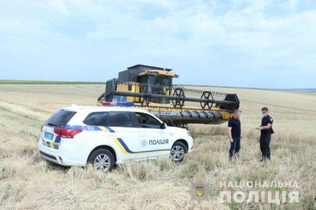В поле под Харьковом мужчина обстрелял комбайн