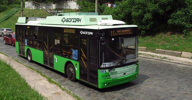 Троллейбус №11 завтра изменит маршрут