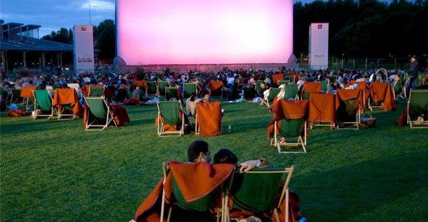 В Холодногорском районе покажут кино под открытым небом