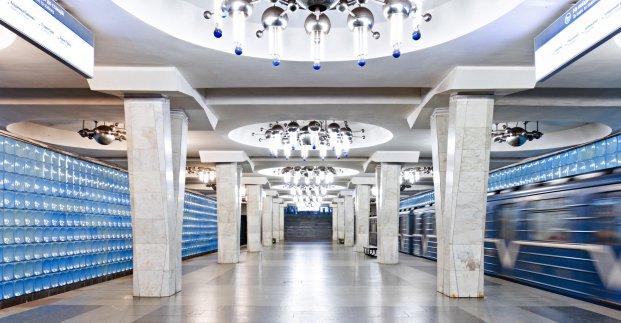 Один из вестибюлей станции метро «Академика Барабашова» будет закрыт поздно вечером