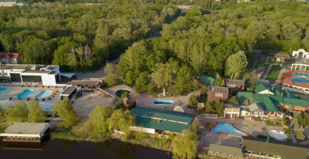 Харьков с с высоты птичьего полета: Алексеевский лугопарк показали на видео