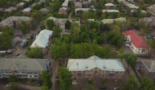Харьков с высоты птичьего полета: Старая Салтовка