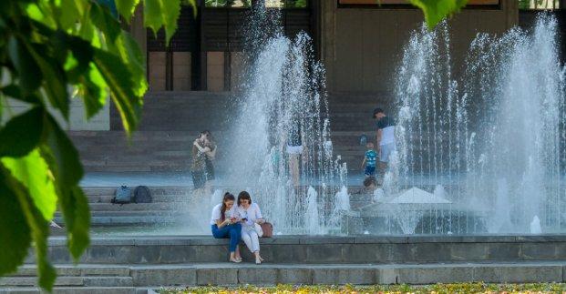 В выходные в Харькове - до 34 градусов тепла