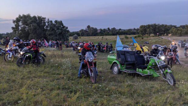 «Мотопробег Единства» добрался в Харьковскую область