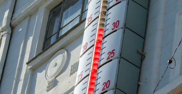 Завтра в Харькове - до 35 градусов тепла