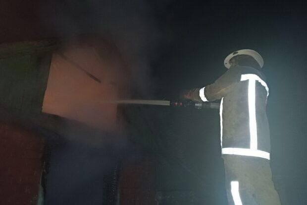Под Харьковом на пожаре погибла женщина