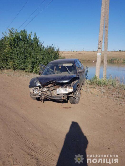 Под Харьковом несовершеннолетний угнал и разбил чужой автомобиль