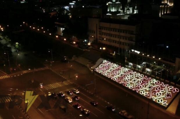 Мэрия Харькова на иллюминацию клумбы на площади Павловской потратила 7 млн гривен - ХАЦ