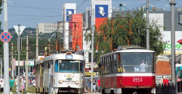 В среду трамваи №23 и 26 будут курсировать по другому маршруту
