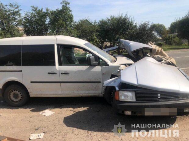 В Харьковской области в результате аварии погиб пожилой мужчина
