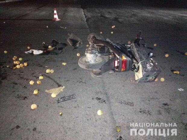 Под Харьковом в результате ДТП пострадал 10-летний мальчик