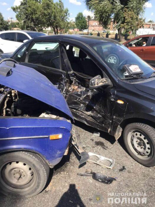 В Харькове в результате аварии пострадал мужчина
