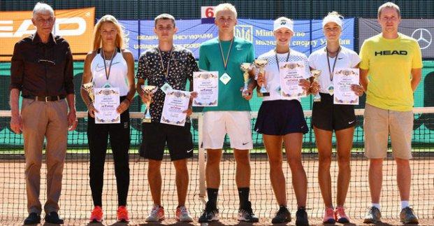 Харьковчанин победил на чемпионате Украины по теннису