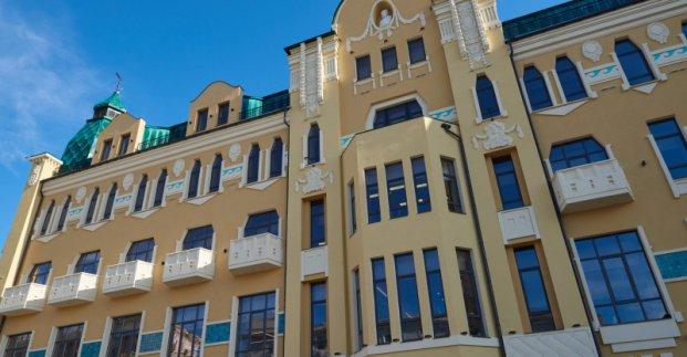 На уборку Дома недвижимости после официального открытия потратят более 1 млн гривен