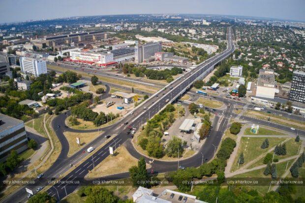 В Харькове открывают движение на второй части Коммунального моста