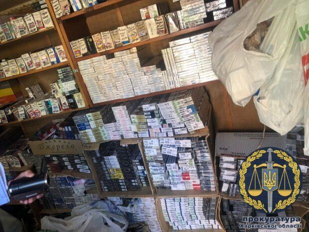 """Под Харьковом продавали контрафактные сигареты, которые изготовляли в """"ДНР"""""""