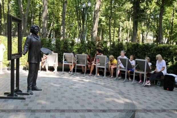 В саду Шевченко прошел конкурс детского рисунка