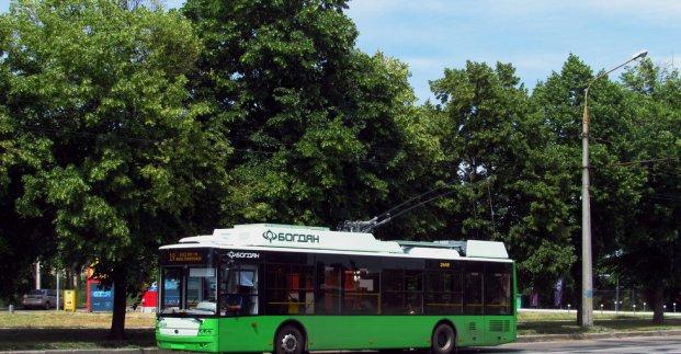 Троллейбус №19 не будет ходить четыре дня