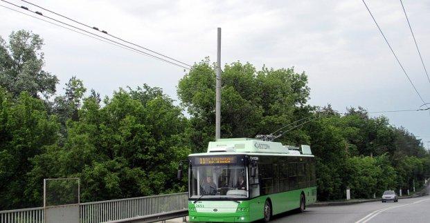 Троллейбус №11 завтра будет ходить по измененному маршруту
